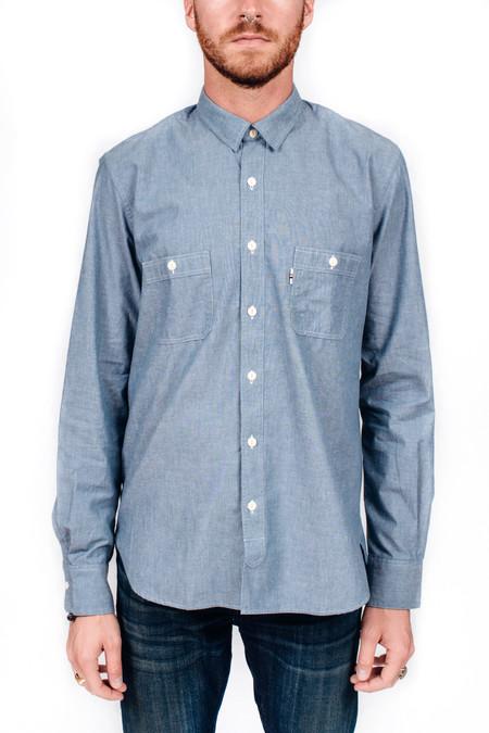 Men's Maison Kitsune Western Shirt