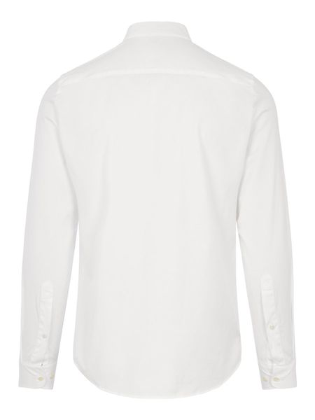 J Lindeberg Stretch Oxford BD Slim Shirt - White