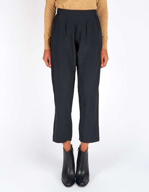 Ali Golden Elastic Waist Pant Black