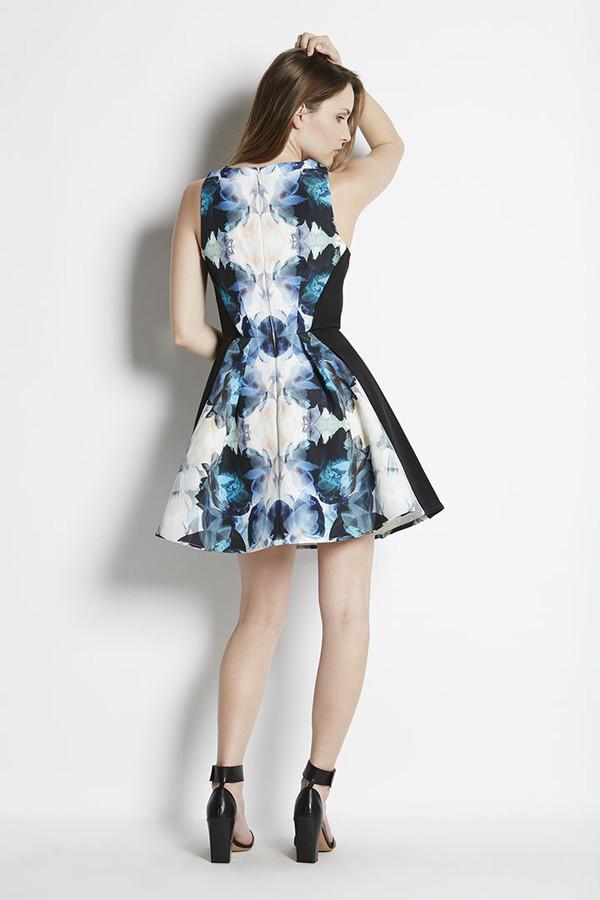 Keepsake Modern Art Mini Dress