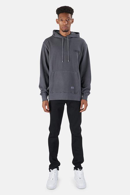 Stampd F*** Off Drag Hoodie Sweater - Steel Grey