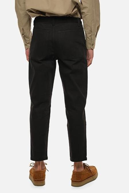House of St. Clair Atlas Trouser - Black Twill