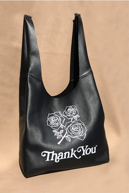 AW by Andrea Wong Leather Gratitude Grocery Bag