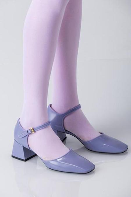 Suzanne Rae Maryjane Sandal - Spazzolato Lavender