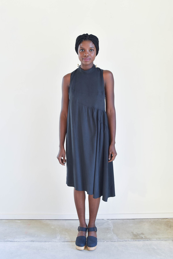 Correll Correll Arc Dress in Black