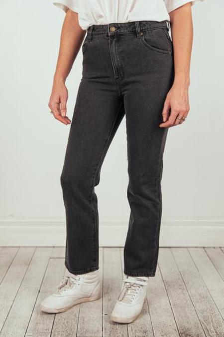 Rollas Original Straight Jean - Belinda Black