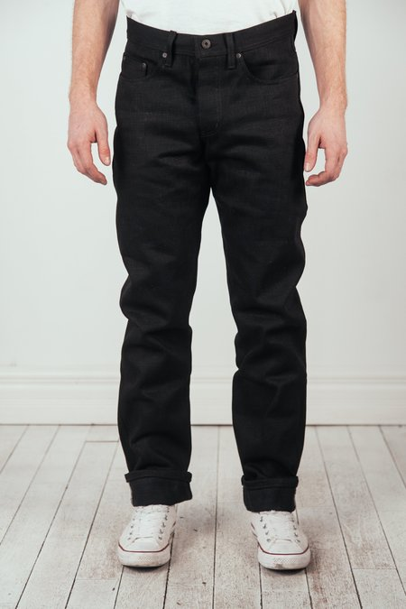 Naked & Famous Weird Guy Elephant 7 Jeans - Black