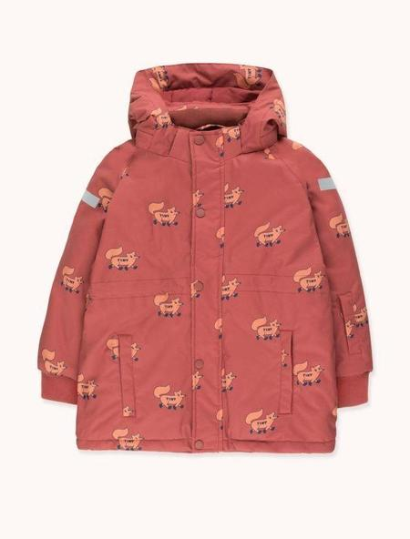 Kids Tinycottons Foxes Snow Jacket