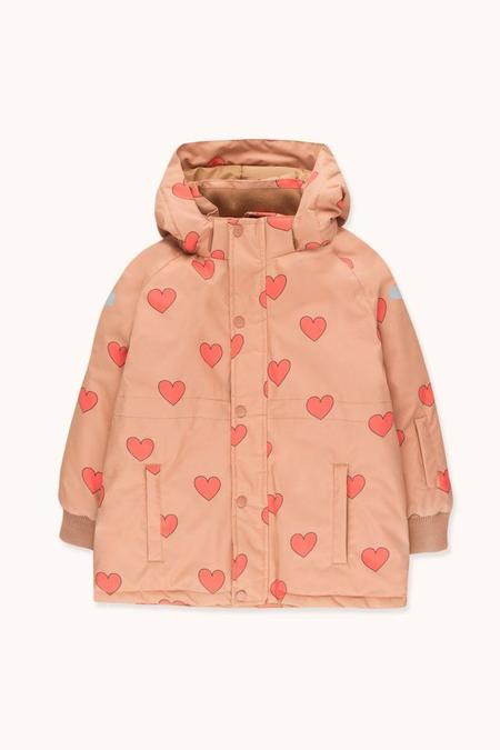 Kids Tinycottons Hearts Snow Jacket