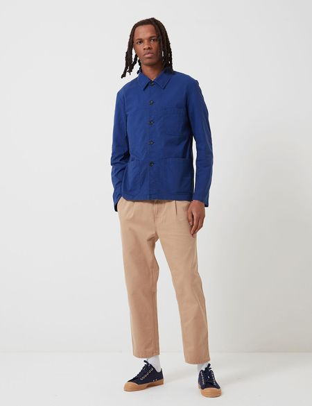 Vetra French Workwear Light Cotton Jacket 4N45 - Hydrone Blue
