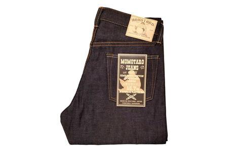 Momotaro Jeans 15.7oz Zimbabwe Cotton Natural Tapered Jean