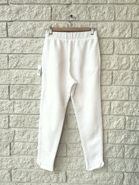 Frank & Eileen THE TROUSER SWEATPANT - WHITE