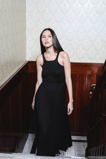 SALASAI ALEXIA SKIRT - BLACK