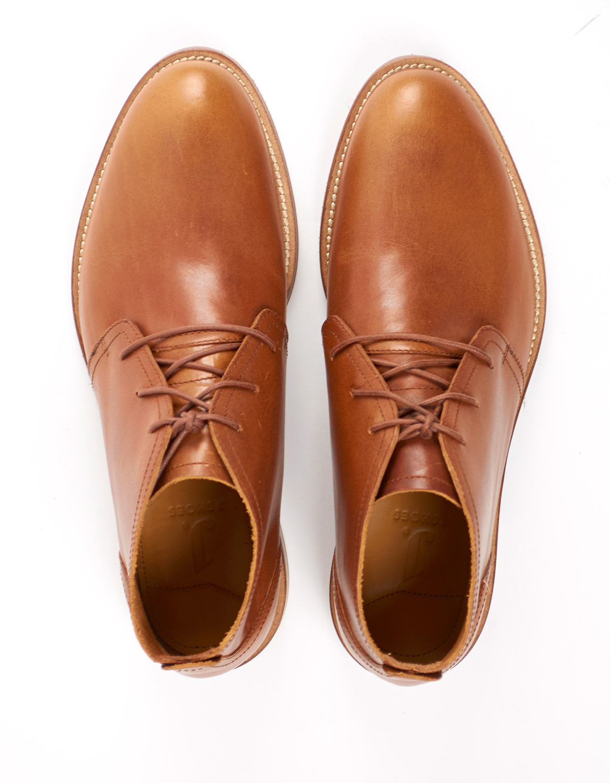 J Shoes Monarch Chukka Boot - Brass | Garmentory