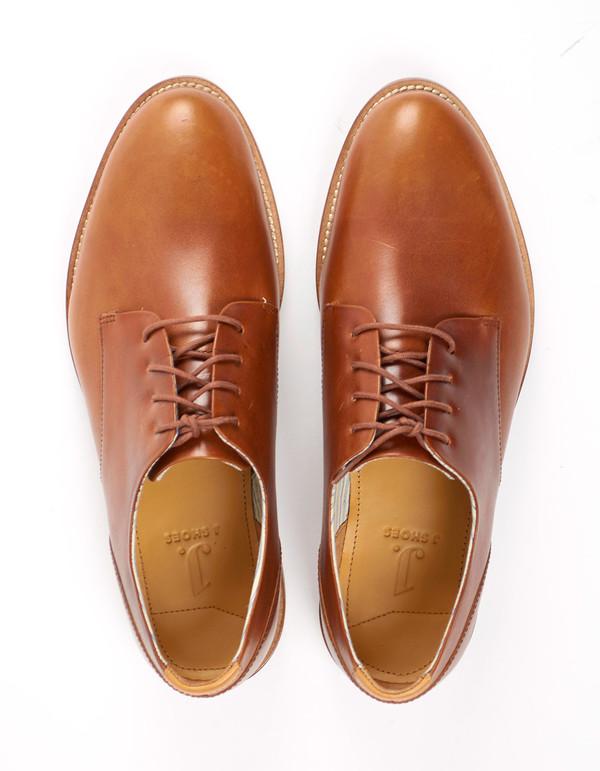 Men's J Shoes William Derby Brass
