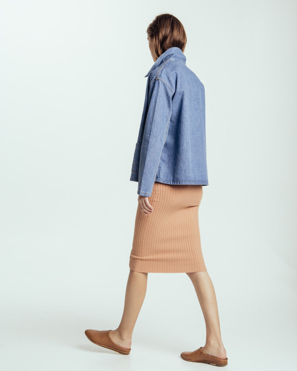 Caron Callahan Krasner Jacket In Denim