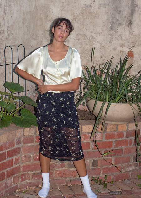 permanent vacation Abloom Skirt