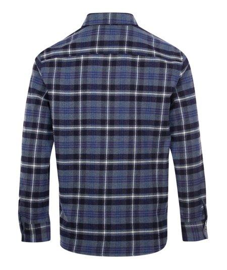 A.P.C. Trek Check Overshirt - Blue