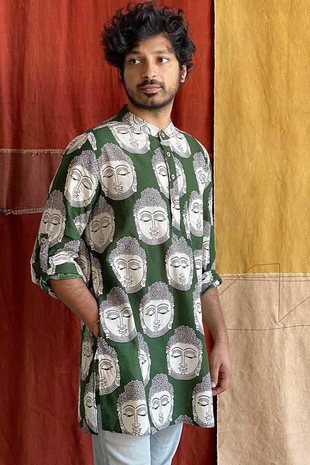 Vilaiti Buddha Print Shirt