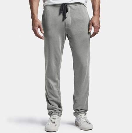 James Perse Vintage Fleece Sweatpant - Steel