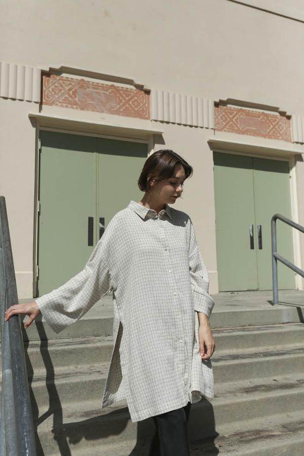 Priory Mikir Shirt in Mini Grid