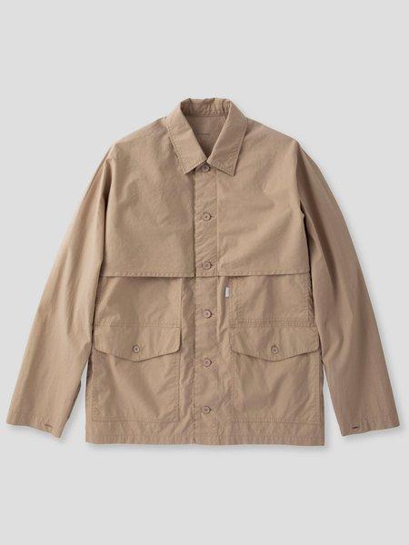 S H SH-FLSN-001 Mackinaw Shirt - Sand