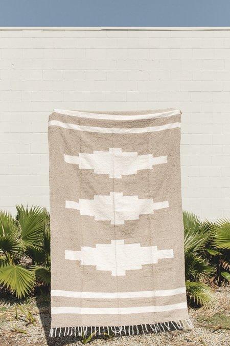 Petra De Luna Mixteca Blanket - Oat