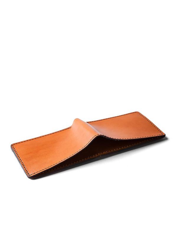 Tanner Goods Utility Bifold Wallet Saddle Tan