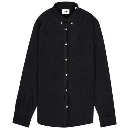 NN07 Manza Slim Shirt - Black