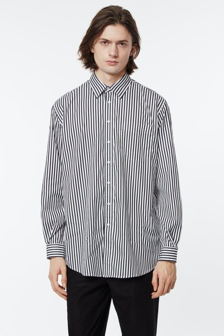 Schnayderman's Non Binary Shirt - Stripe Black/White
