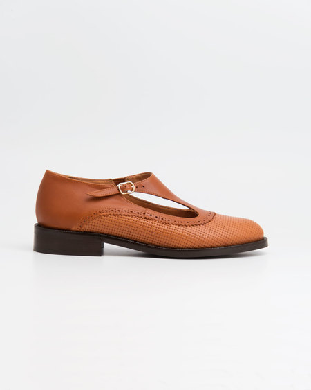 NAGUISA SASO SHOE - BROWN