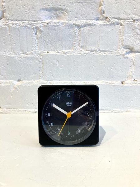 Braun Alarm Clock - Black/Black