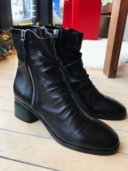 Halmanera Arisa Ankle Boot - Black