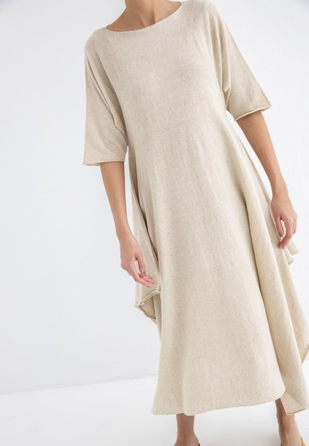 Lauren Manoogian Plane Dress - Natural