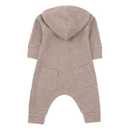 Kids 1+ In The Family Marmolada Jumpsuit With Hood - Pink