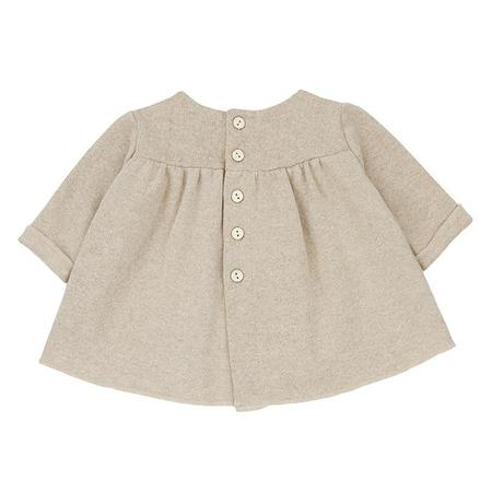kids 1+ In The Family Baby Mirelle Dress - Cream