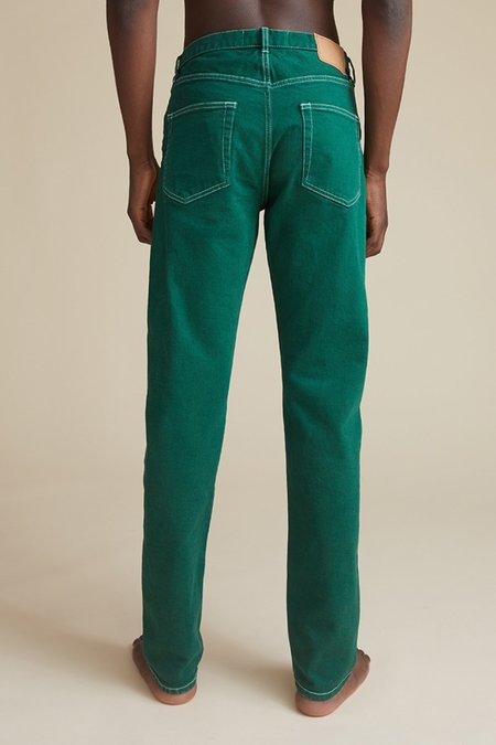 Jeanerica Tapered 5 pocket jeans - ivy league green