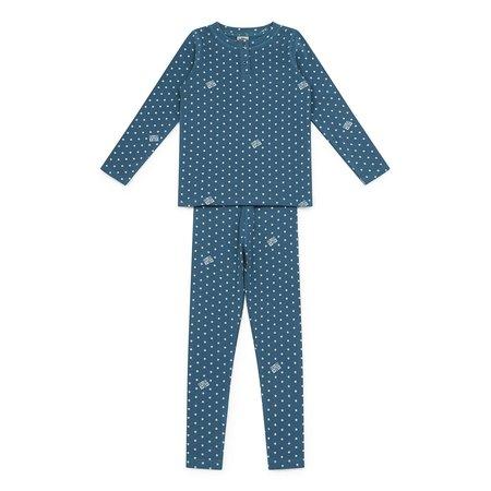 Kids Bonton Loungewear Set - Star Blue