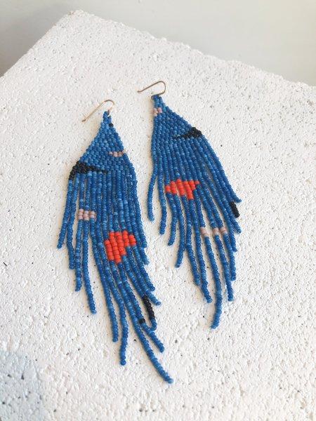 Salihah Moore Miro Earrings - Blue