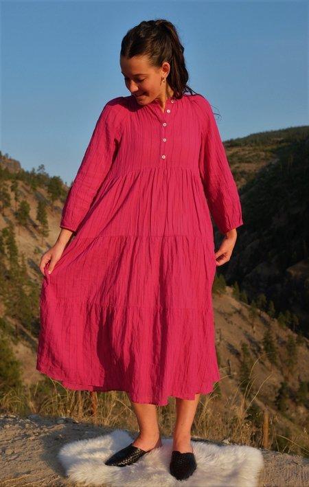 Pietsie San Pacho Dress - Prickly Pear Pink