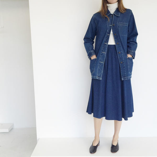 Johan Vintage Denim Circle Skirt