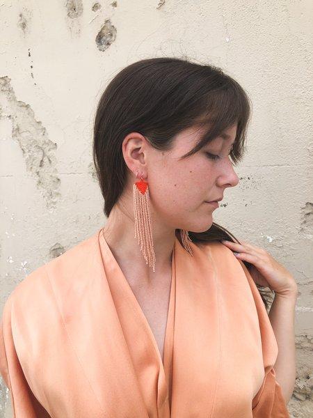 Stan Ray Jessi Earrings - Orange/Sand