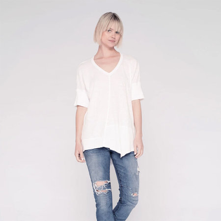 Wilt Twisted Seam Top - White
