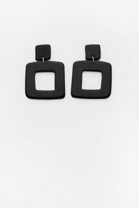 Valet Studio Lois Earrings - Black