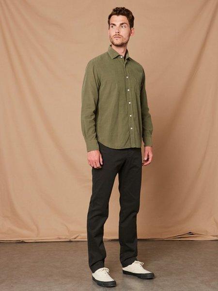 Hartford Paul Corduroy Shirt - Green