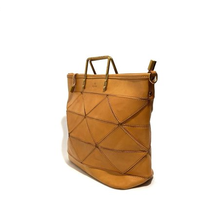 Uppdoo Large Origami Bag - Tan