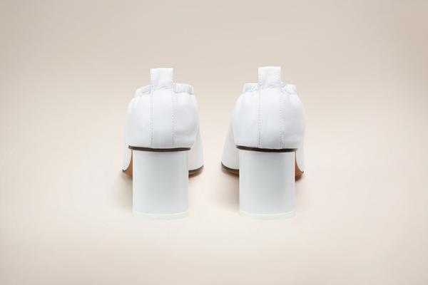 GRAY MATTERS Micol White Pump