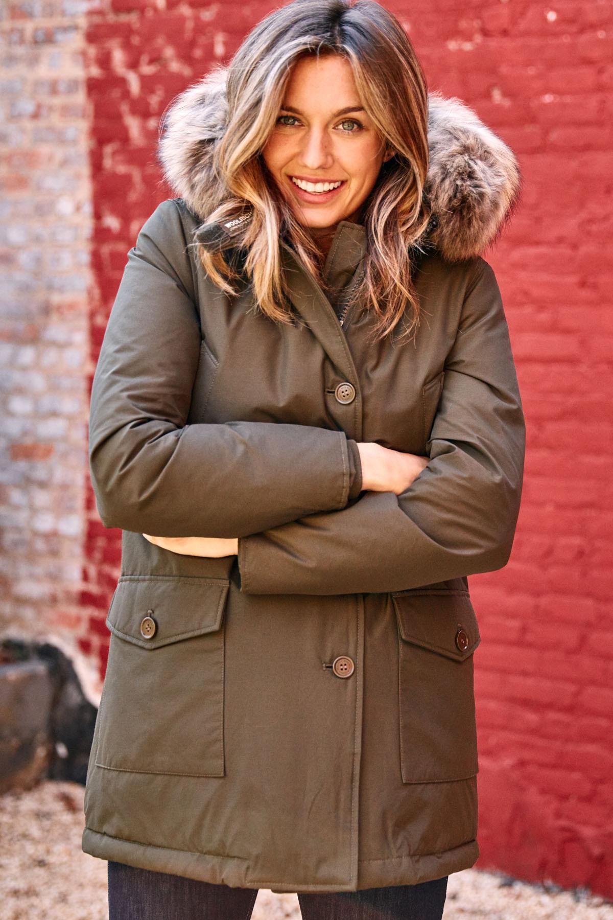Woolrich Women S Arctic Parka Olive Green Garmentory