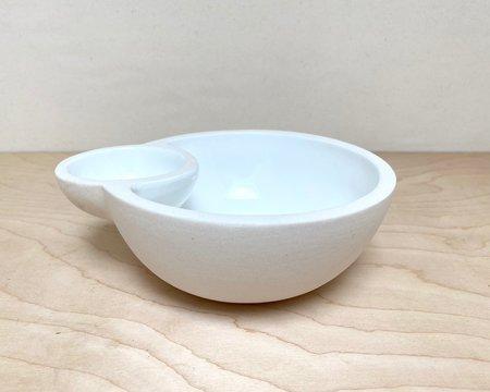 Julie Cloutier Ceramic Double Bowl