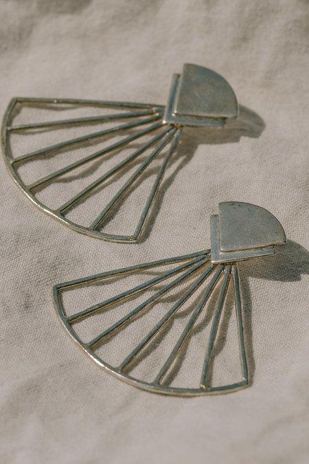 Take Shape Studio Ray Fan Earrings